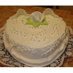 Свадебный торт Белое Сердце: заказать, доставка