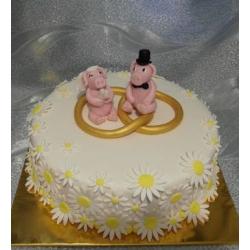 Свадебный торт Пигги: заказать, доставка