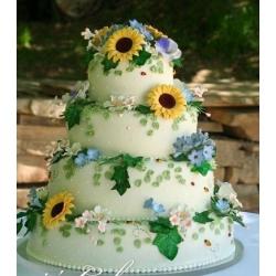 Свадебный торт Поляна сказок: заказать, доставка