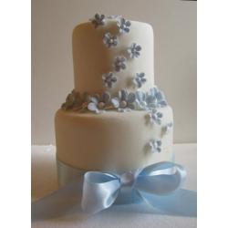 Свадебный торт Голубой вальс: заказать, доставка