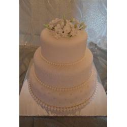 Свадебный торт Белая ночь: заказать, доставка