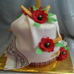 Свадебный торт На счастье!: заказать, доставка