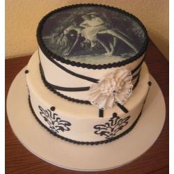 Свадебный торт Ретро-стиль: заказать, доставка