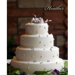 Свадебный торт Хитер: заказать, доставка