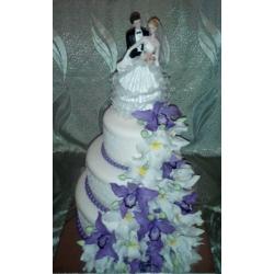 Свадебный торт Орхидея Бали: заказать, доставка
