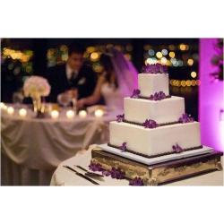 Свадебный торт Фиалка: заказать, доставка