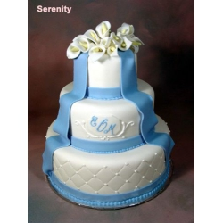 Свадебный торт Морской Бриз: заказать, доставка