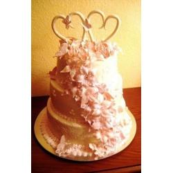 Свадебный торт Сладкая любовь: заказать, доставка