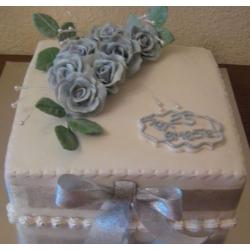 Торт на 25 лет совместной жизни