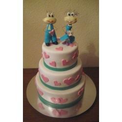 Свадебный торт Масяни: заказать, доставка