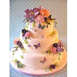 Свадебный торт Райская мелодия: заказать, доставка