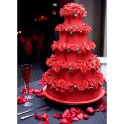 Свадебный торт Французский поцелуй: заказать, доставка
