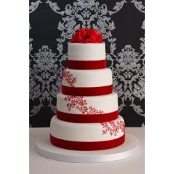 Свадебный торт Роскошь Замша: заказать, доставка