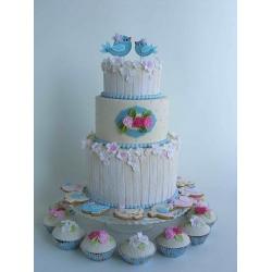 Свадебный торт Прованс: заказать, доставка