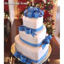 Свадебный торт Синий Бант: заказать, доставка