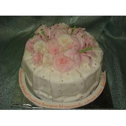 Свадебный торт Розовые мечты: заказать, доставка