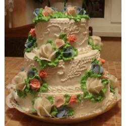 Свадебный торт Весенний сад: заказать, доставка