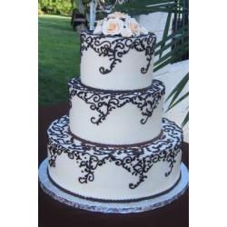 Свадебный торт Ажурный: заказать, доставка