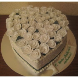 Свадебный торт Сердце любви: заказать, доставка