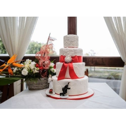 Свадебный торт Королевский ужин: заказать, доставка