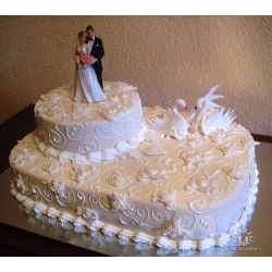 Свадебный торт Королева бала: заказать, доставка