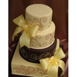 Свадебный торт Крем-брюле: заказать, доставка