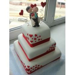 Свадебный торт Стрелы амура: заказать, доставка