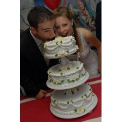Свадебный торт Ажур 2: заказать, доставка