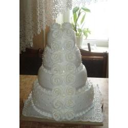 Свадебный торт Классическая Свадьба: заказать, доставка