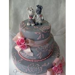 Свадебный торт Любимый зайчик!: заказать, доставка