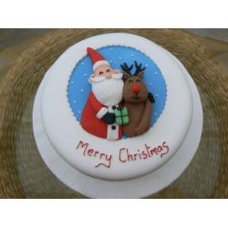 Новогодний торт-4