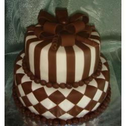 Свадебный торт Вкус шоколада: заказать, доставка