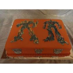 Фото-торт Трансформеры