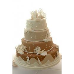 Свадебный торт Морское дно: заказать, доставка