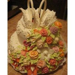 Свадебный торт Лунная соната: заказать, доставка