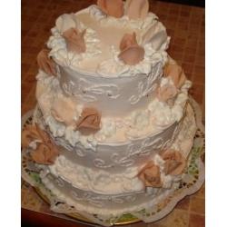 Свадебный торт Эльза: заказать, доставка