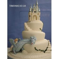 Свадебный торт Романтика: заказать, доставка