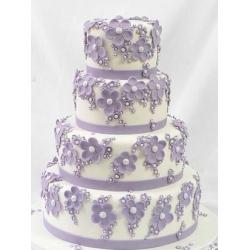 Свадебный торт Аромат фиалки: заказать, доставка