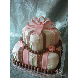 Свадебный торт Карамель: заказать, доставка