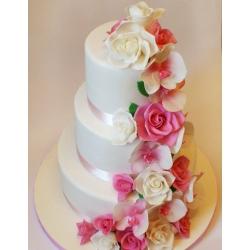 Свадебный торт Цветочной сад: заказать, доставка