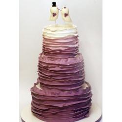 Свадебный торт Пурпур: заказать, доставка