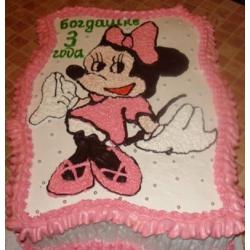 Детский торт Микки Маус