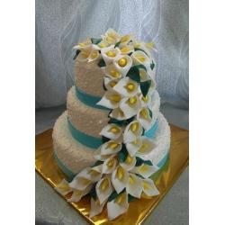 Свадебный торт Королевские калы: заказать, доставка