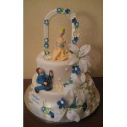 Свадебный торт Серенада: заказать, доставка