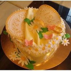Торт на Фаянсовую свадьбу-9: заказать, доставка