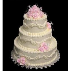 Свадебный торт Чайная роза: заказать, доставка
