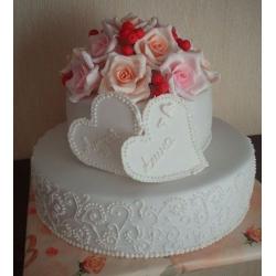 Свадебный торт Яблоневый цвет : заказать, доставка