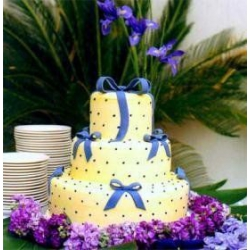 Свадебный торт Лимонное небо: заказать, доставка