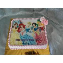 Торт для девочки Принцесса