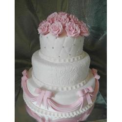 Свадебный торт Розовые сны: заказать, доставка